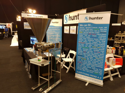 Hunter Filling at the Apiculture Conference
