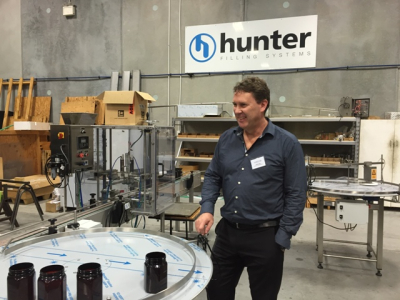 WECA Members Tour Hunter Filling Systems